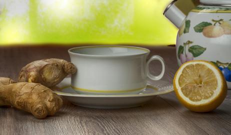 Τσάι από τζίντζερ