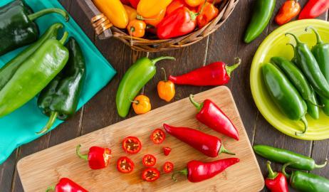 Πιπεριές, ο πολύχρωμος διατροφικός θησαυρός
