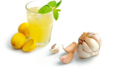 Χυμός λεμονιού με σκόρδο για την καρδιά