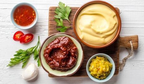 Ketchup, μαγιονέζα και μουστάρδα από τα χεράκια σας