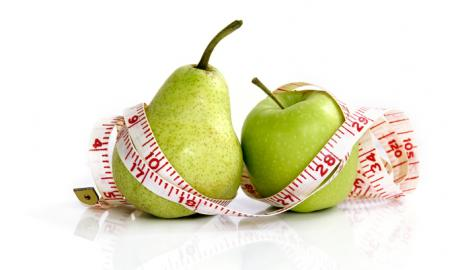 Ποιο σχήμα σώματος είναι υγιέστερο, το αχλάδι ή το μήλο;
