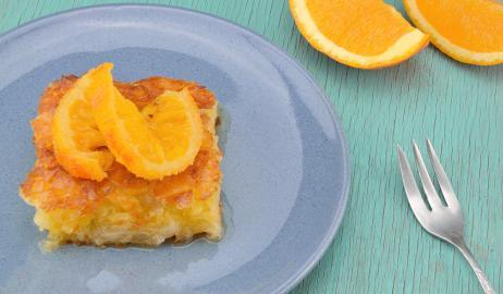 Πορτοκαλόπιτα έχεις φτιάξει ποτέ; Με αυτή τη συνταγή την έχεις στο... τσεπάκι σου