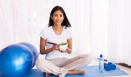 Επιλέξτε το σνακ που θα φάτε μετά την προπόνηση προτού ξεκινήσετε να γυμνάζεστε