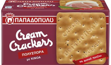 Νέα γεύση Cream Crackers Πολύσπορα