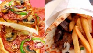Τι να διαλέξω: Πίτσα Ή σουβλάκι με πίτα;
