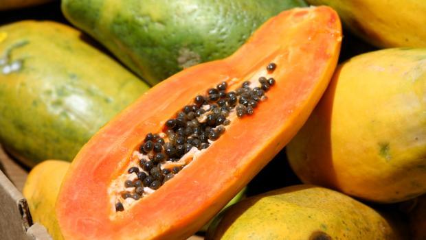 Papaya Υπερτροφή και φυσικό θεραπευτικό